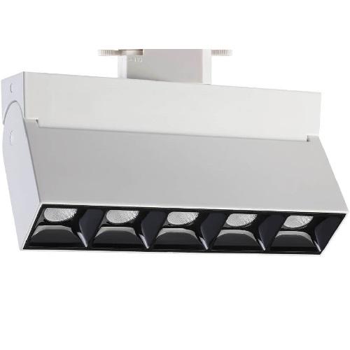 Трековый светодиодный светильник 25Вт 3000К 357841 однофазный
