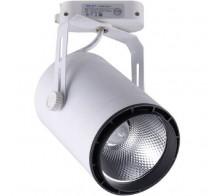Трековый светодиодный светильник 30Вт 4000К 6483-3,01 однофазный