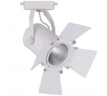 Трековый светодиодный светильник 30W 4000K 32558 однофазный