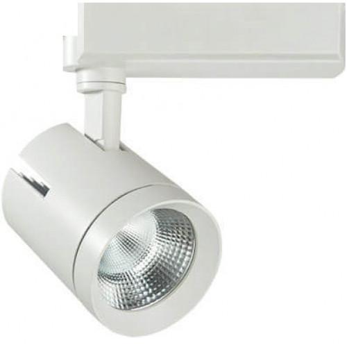 Трековый светодиодный светильник 40W 3000К 357543 трехфазный