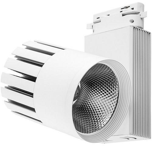 Трековый светодиодный светильник 40Вт 4000К 32951 трёхфазный