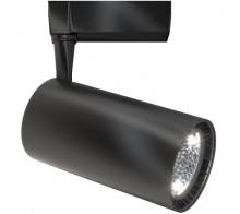 Трековый светодиодный светильник 40W 3000K TR003-1-40W3K-B однофазный