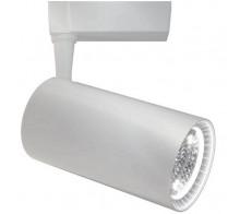 Трековый светодиодный светильник 40W 3000K TR003-1-40W3K-W однофазный