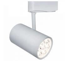 Трековый светодиодный светильник 7W 4000K A6107PL-1WH однофазный