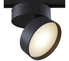 Трековый светодиодный светильник 18W 3000K TR007-1-18W3K-B однофазный