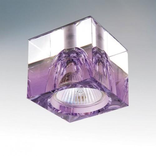 Точечный светильник LIGHTSTAR 004149 META QUBE CR-VIOLET, 004149