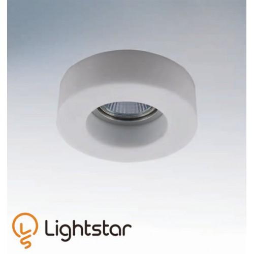 Точечный светильник LIGHTSTAR 006136 LEI MINI BIANCO, 006136