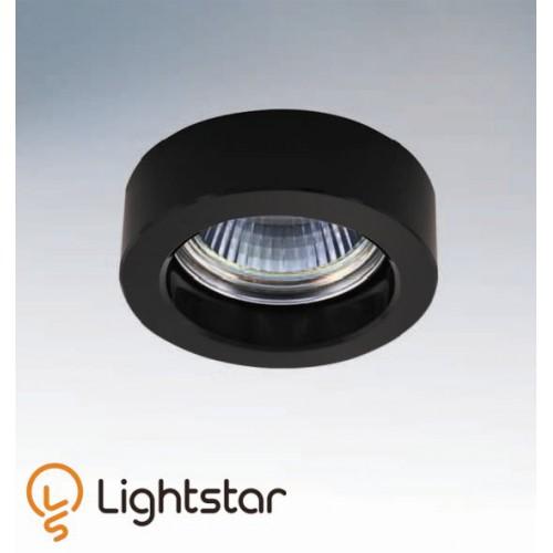 Точечный светильник LIGHTSTAR 006137 LEI MINI NERO, 006137