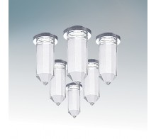 Комплект точечных светильников LIGHTSTAR 079064 NUBELLA 6x