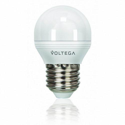 Лампа диммируемая светодиодная Voltega 5496 E-27 6W 4000K, 5496